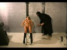 Tight Bondage and Pussy Punishment