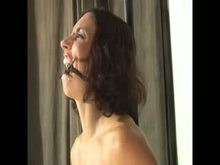 Pussy rope and ring gag