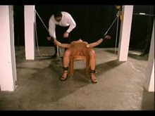 Cunt Torture with Clamps