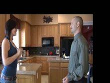 Paddling Discipline in Kitchen
