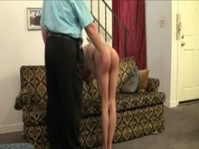 booty Punishment for slim sub chick