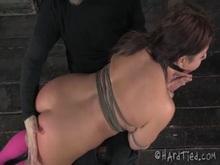 Rope Bondage and OTK Spanking