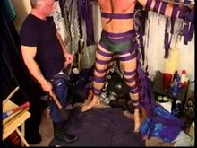 Jim Roberts gets a punishing CBT session with a baseball bat followed by a cattle prod.