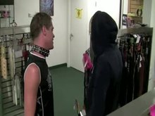 Gay BDSM - Young boy with Master