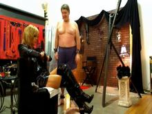 Shemale Mistress and Slave