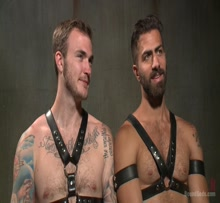 Adam Ramzi and Christian Wilde - Gay BDSM