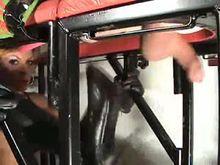 Brutal milking Handjob from Sexy Mistress