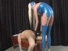 Latex Mistress with Sounds CBT