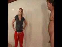 Mistress busting her slave boys