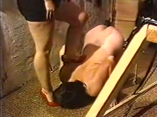 Vintage extreme CBT and Femdom