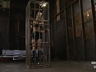 Helly Mae Behind Bars in Dungeon