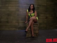 Becca Diamond likes it Tied up and Rough
