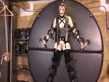 BDSM Latex - Bondage Wheel