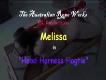 Hogtied with Head Harness