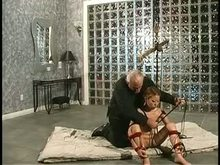 Asian Slave in Shibari