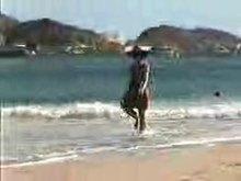Devonshire Bondage - Taken from beach