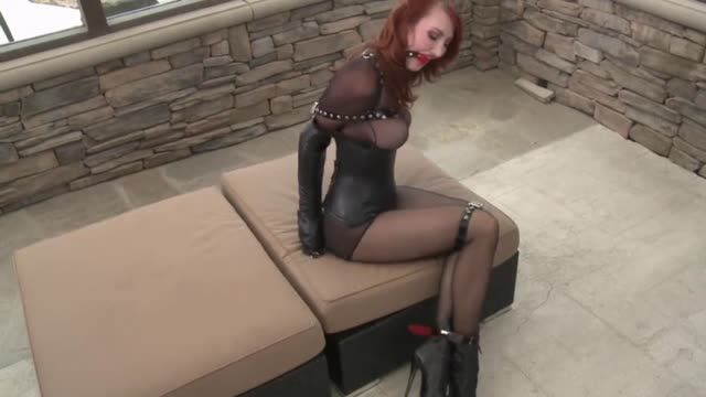Kendra James Gagged and Restrained