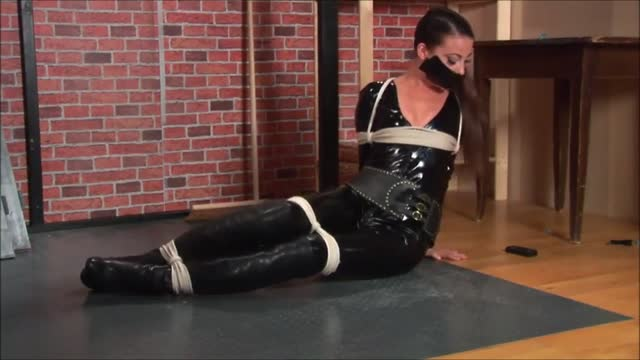 Catsuit and ropes