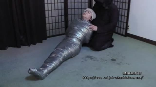 Japanese Duct Tape Bondage