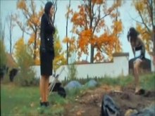 Sissy Boy Buried and Pissed on