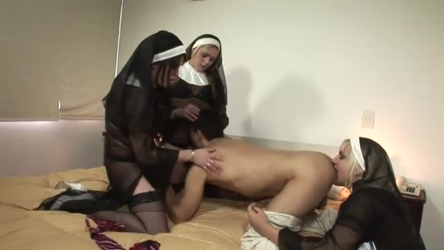 Tranny nuns and sub boy