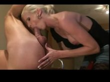 Dominant Woman Sucking and Pegging