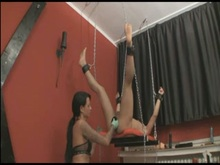 Pegging from German Mistress