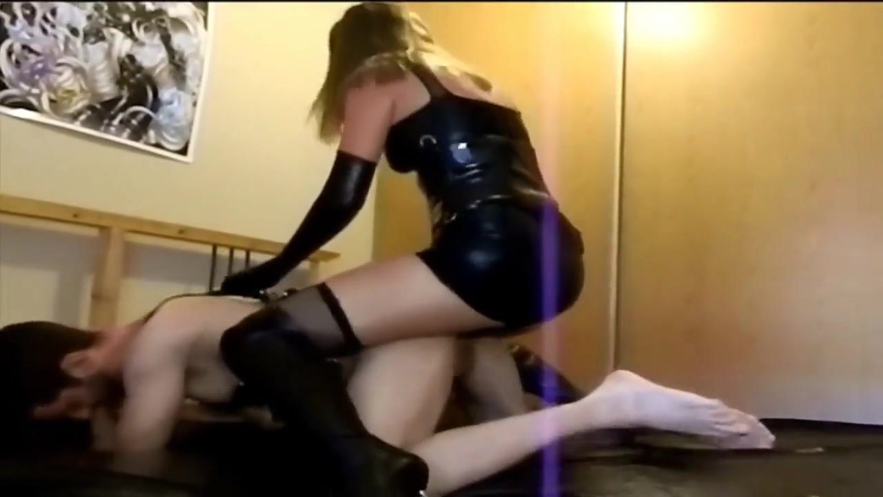 Pegging my bitch