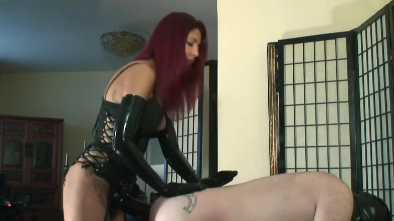 Strap-on from Stunning Cruel Latex Mistress