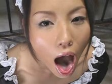 Japanese Cum Slut Maid Bukkake