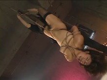 Japanese Flogging Suspension Shibari and whipping