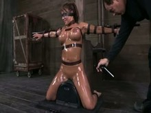 Slave girl's dungeon domination