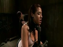 Bitch in Restraints Getting it Hard