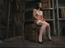 Brunette's BDSM Session