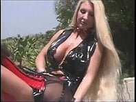 Latex Clad Whores - Outdoors