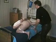 Enema and forced blowjob
