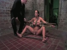 Busty Slave Girl in Bondage Punished - Part 2