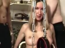 French Sub Wife Used by Group of Men