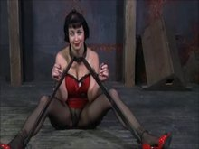 Hot wax Torture in Restraints - Part 1