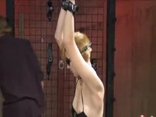 Tortured and Toyed Collared Slave Girl