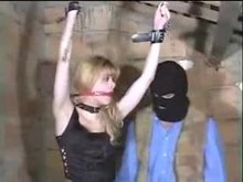 French BDSM - Blonde Abused and Dominated