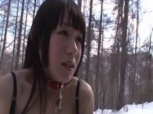 Japanese Pervert BDSM Winter Outdoors