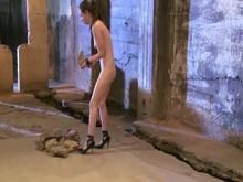 Brunette Slave's Training Part 2