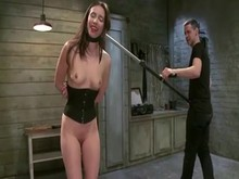 Brunette Slave's Training Part 3