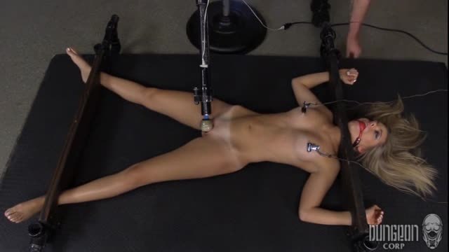 Trisha Parks - Magic Wand, Restraints and Forced Orgasms of Sexy Blonde