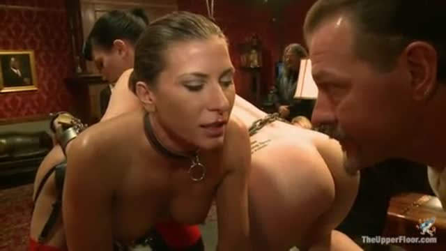 Katherine Cane with Ariel X and Aiden Starr - Upperfloor