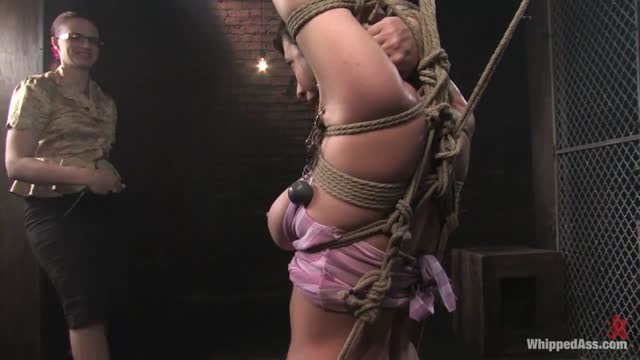Claire Adams dominating Cherry Torn