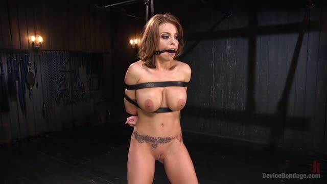 Britney Amber on Device Bondage