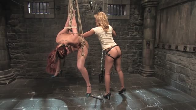 Lezdom Water Bondage and Domination - HD