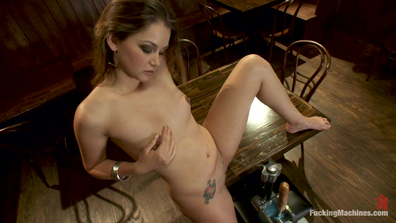 Anal Fucking Machine In The Bar